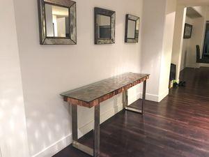 Modern Design Console Table (Unique Design) for Sale in Los Angeles, CA
