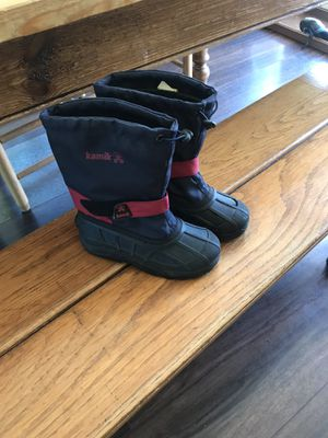 Kids Kamik snow boots for Sale in Snohomish, WA