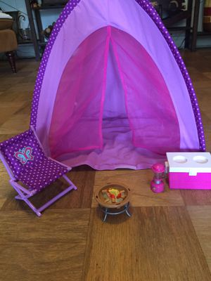 American girl doll camping set for Sale in Winter Haven, FL