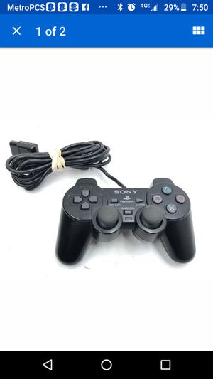 Ps2 dualshock2 controller for Sale in Atlanta, GA