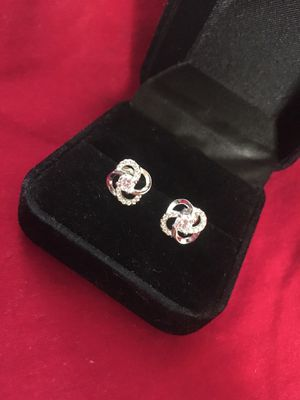 New .925 Silver Double Infinity Earrings for Sale in Milwaukee, WI