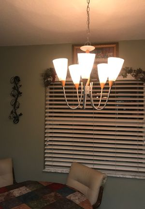 Hanging chandelier lamp for Sale in Tarpon Springs, FL