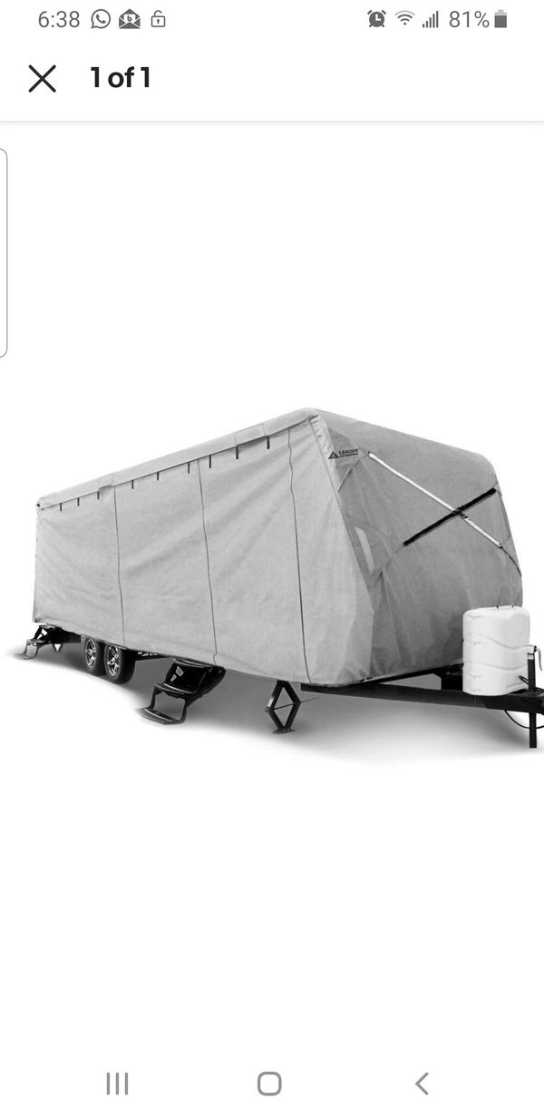 Travel Trailer Cover Fit 24'-27' RV Camper 5 Layer