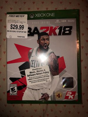 NBA 2k18 for Sale in Lake Oswego, OR