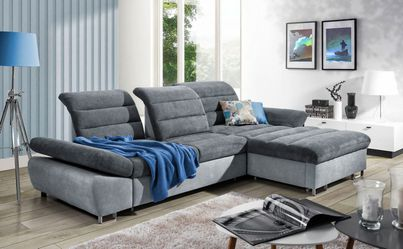 Sleeper Sofa with storage DONATELLA for Sale in Elk Grove Village,  IL