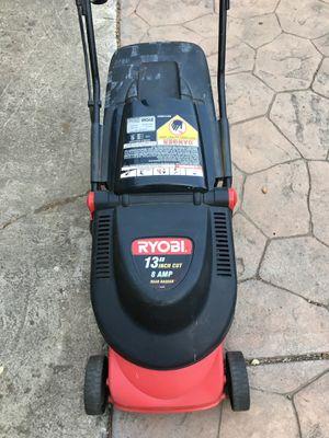 """Ryobi electric lawnmower 13"""" for Sale in San Jose, CA"""