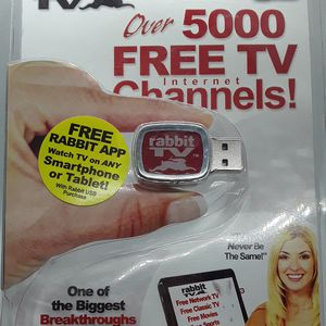 Rabbit TV As Seen On TV Internet TV - New/Sealed for Sale in Sacramento, CA