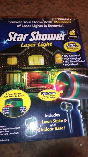 Newmver used Star shower lazer light for Sale in Douglasville, GA