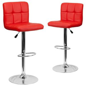 2 brand new red bar stools New in the box free delivery for Sale in Miami, FL