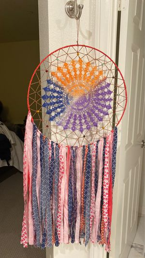 Wall Art -2 Summer Hand crafted Dreamcatchers for Sale in Oceanside, CA