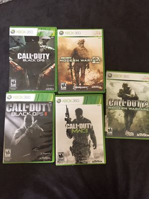 Call of Duty games for Xbox 360 for Sale in Westerville, OH
