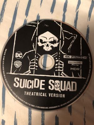 Suicide Squad 4K Theatrical Version (No scratches on disc!) for Sale in Millbrook, AL