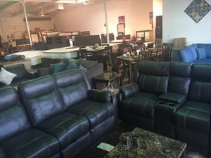 2pc sofa and love seat recliners for Sale in Las Vegas, NV