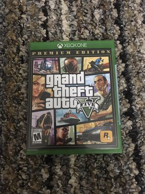 Grand Theft Auto V (Xbox One) (Never used) for Sale in La Vergne, TN
