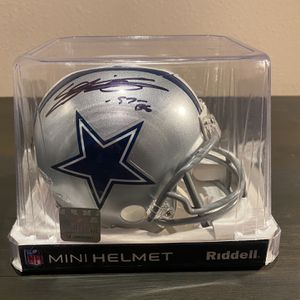 "Everson Griffen Signed Cowboys Mini Helmet Inscribed ""BG"" for Sale in Fullerton, CA"