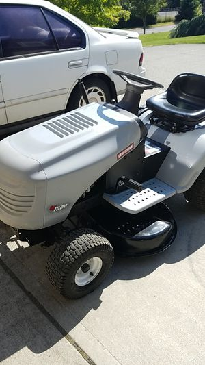 Craftsman Lt 1000 riding lawn mower for Sale in Vancouver, WA