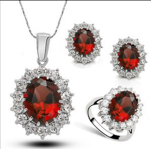 Sterling silver jewelry set, necklace, ring and earrings for Sale in St. Cloud, FL