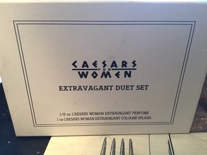 Discontinued rare hard to find caesars women's perfume extravagant for Sale in Atco, NJ