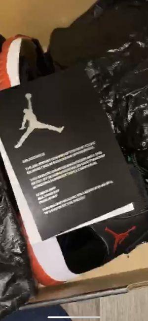 Jordan bred 11's for Sale in Detroit, MI