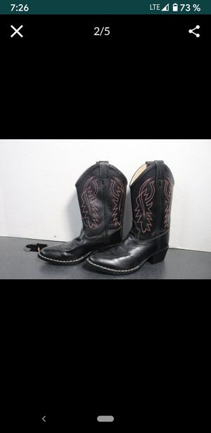 Boy's Western Leather Boots for Sale in Garden Grove, CA