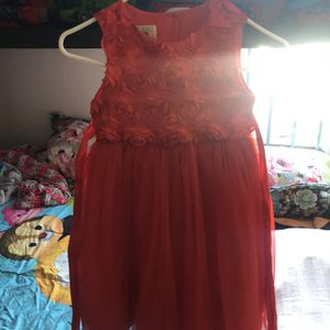 Red Girls Dress Size 6/6x for Sale in Los Angeles, CA