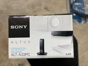 Sony Altus ALT-A33PC & ALT-SA34R Wireless Audio for Sale in East Windsor, NJ