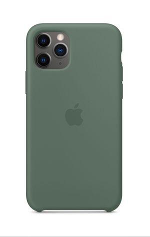 iPhone 11 Pro Max/11 Pro/Apple Silicone Case Green for Sale in Santa Clarita, CA