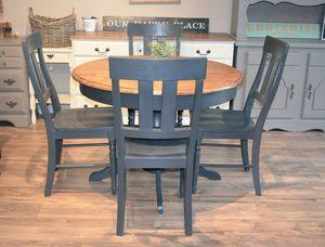Round Graphite Kitchen/Dining Set for Sale in San Diego, CA