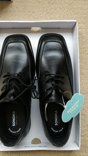 Sonoma brand new black shoes kids size 5 for Sale in Centreville, VA