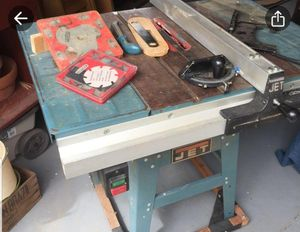 """Jet 10"""" 115/220 Table Saw for Sale in Lake Grove, OR"""