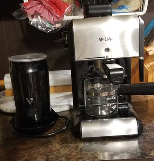 Mr. Coffee Espresso Machine with Seperate Frother for Sale in WMS COLLEGE, AR