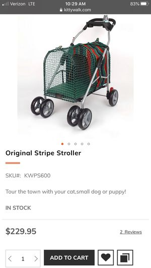 Pet Stroller-Cats or Small Dogs for Sale in Schaumburg, IL