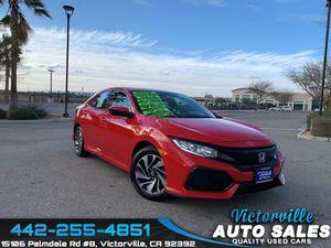 2017 Honda Civic hatchback for Sale in Victorville, CA