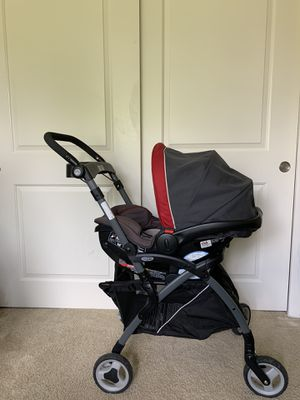 Graco click Connect - dual purpose 1)car seat 2) stroller for Sale in Troy, MI