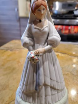 """1985 Gallery Arts """" The Bride """" Music Box for Sale in Glendale Heights,  IL"""