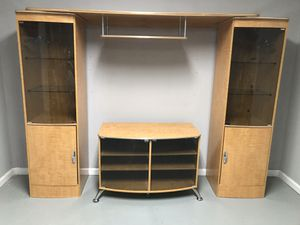 Ashley Furniture 4 Piece Entertainment Center for Sale in Columbia, SC