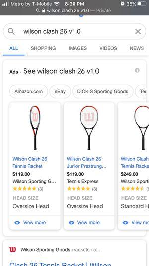 Wilson tennis racket for Sale in Stockton, CA
