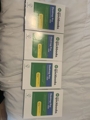 Quickbooks Desktop Pro 2020 with 90- day Support PC. for Sale in Fort Lauderdale, FL