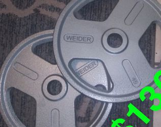 45lb Weight Platea for Sale in Fresno,  CA