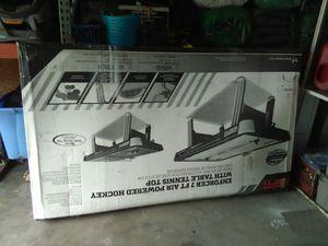 Espn enforcer air hockey plus table tennis for Sale in Orlando, FL