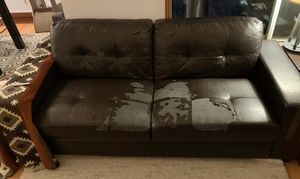 FREE Bonded Leather Couch Sofa for Sale in Bothell, WA