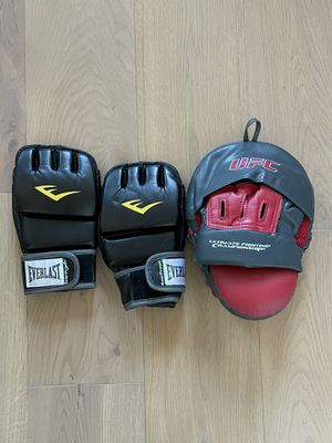 UFC Gloves and Pad for Sale in New York, NY