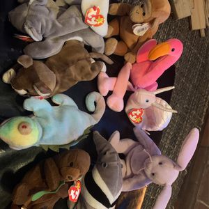 10 Beanie Babies for Sale in Tigard, OR