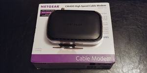 Netgear cable modem CM400 for Sale in Westfield, MA