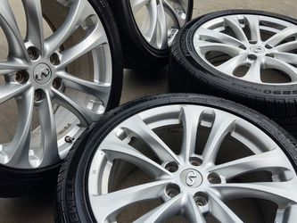 "18"" infiniti Wheels W/Tmps Sensors Tires 95%-80% for Sale in Gardena,  CA"