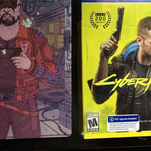 Brand New Never Opened Cyberpunk 2077 And Steel Case for Sale in Crete, IL