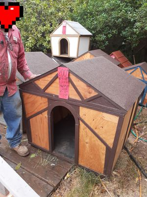 brown dog house for sale $200 for Sale in Corona, CA