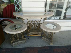 Furniture set 3 pcs 195 for all for Sale in Clovis, CA