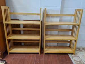 Collapsible Shelves (3 available) for Sale in Rockville, MD