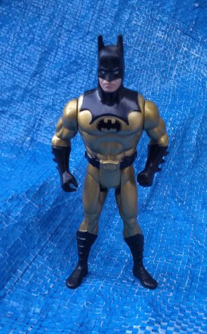 1990 Kenner The Dark Knight Collection Tec-Shield Batman Action Figure DC Comics Vintage Collectible for Sale in Pasadena, CA